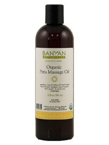 Banyan Botanicals, Pitta Massage Oil 12 oz