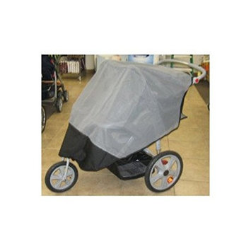 Sasha's Kiddie Products InStep Grand Safari 2011 Double Stroller Sun, Wind and Insect Cover