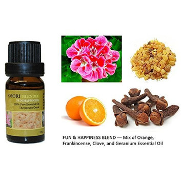 Fun & Happiness - 100% Pure Therapeutic Grade Essential Oil 10ML (Blended)