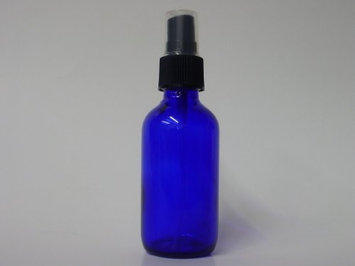 Lotus Light Pure Essential Oils: Blue Glass Bottle with Sprayer, 2 oz