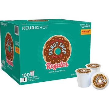 The Original Donut Shop, Single-Serve K-Cup Pods, Medium Roast Coffee, 100 Count [Medium roast]