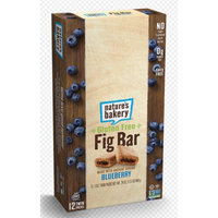 Nature's Bakery Gluten Free Fig Bars - Blueberry - 12 ct