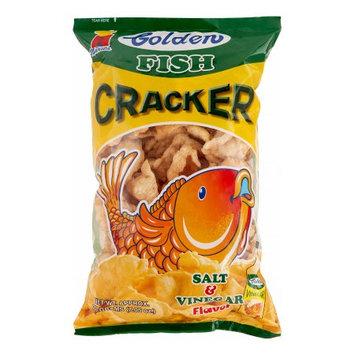 Golden Fish Cracker Salt & Vinegar, 200 Gram
