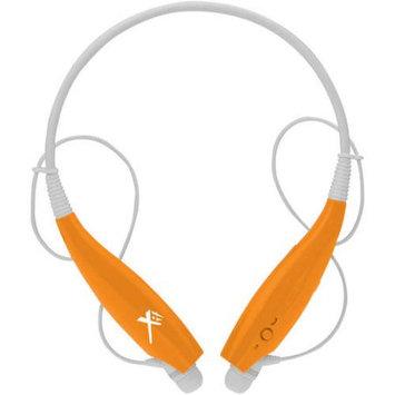 Xit Inc. Xit Axtbthsbor Orange Bluetooth Neck Headphones Sound Band