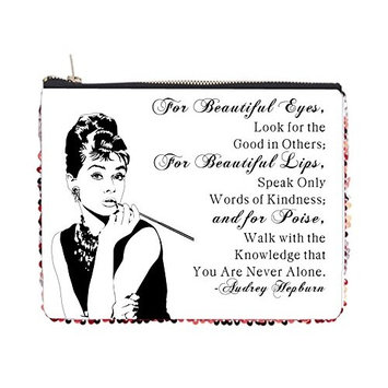 Audrey Hepburn For Beautiful Eyes Quote - 2 Sided 6.5