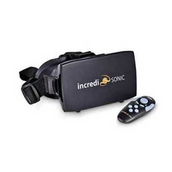 Incredisonic VUE Series VR Glasses, Virtual Reality Headset, & Bluetooth Remote Gaming Controller