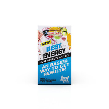 BPI Sports Best Energy Liquid Water Enhancer, Fruit Punch, 144 Servings