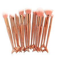 Becoler Synthetic Kabuki Cosmetics Brushes for Eyebrow Eyeliner