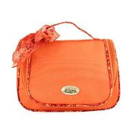 Jacki Design Polyester Summer Bliss Travel Hanging Toiletry Bag Orange