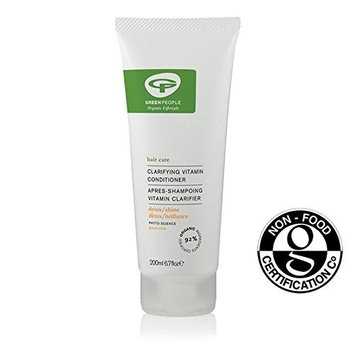 Green People Organic Clarifying Vitamin Conditioner 200ml (PACK OF 2)