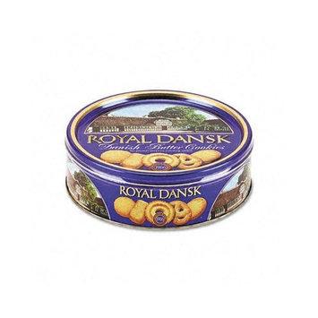 Royal Dansk Cookies Danish Butter 12oz Tin Case Pack 2