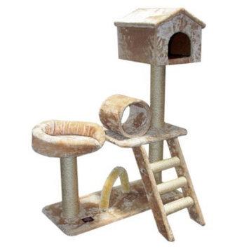 Majestic Pet Products, Inc. Majestic Pet Products 43 inch Casita-Fur Cat Tree