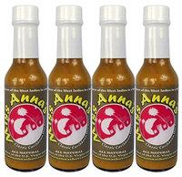 Miss Anna's Mellow Pepper Hot Sauce (Pack of 4)