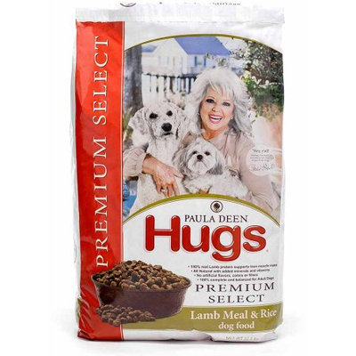 Hugs Pet Products Paula Dean Premium Select Dog Food Lamb and Rice 22.5 lbs