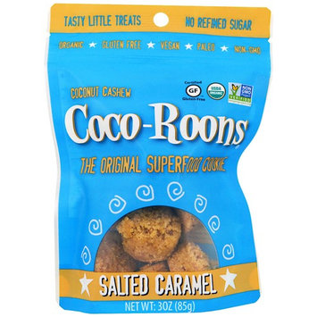 Sejoyia Foods, Coco-Roons, Chewy Cookie Bites, Salted Caramel, 3 oz (85 g) [Flavor : Salted Caramel]