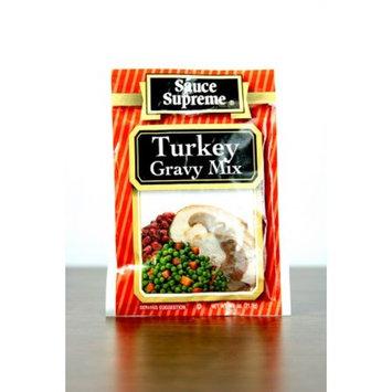 Pack of 24 Sauce Supreme Turkey Gravy Seasoning Mix .75 oz. #30009