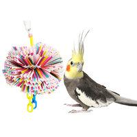 Bonka Bird Toys 1791 Large Paper Puff Bird Toy.