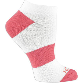 Ladies Breathable No Show Socks with Arch Support, 3 Pair