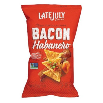 Snyder's of Hanover Late July Bacon Habanero Clasico Tortilla Chips - 2.25oz