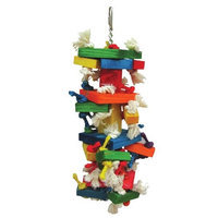 A & E Cage HB46359 The Medium Cluster Blocks Bird Toy
