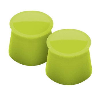 Tovolo Spring Green Wine Cap - Set of Two
