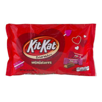 Kit Kat Milk Chocolate Miniatures Valentine's Candy, 10 oz