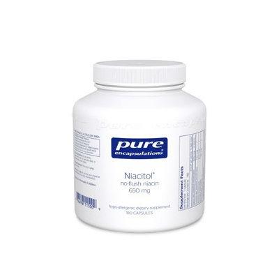 Pure Encapsulations - Niacitol - 650 mg - 180 Capsules