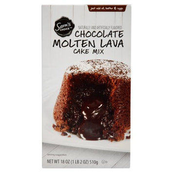 Wal-mart Stores, Inc. Sam's Choice Chocolate Molten Lava Cake Mix, 18 oz