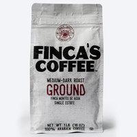 Finca's Coffee Medium-Dark Ground Roast Coffee 1Lb (16 OZ)