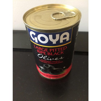 Goya Large Pitted ripe Black Olives 170g