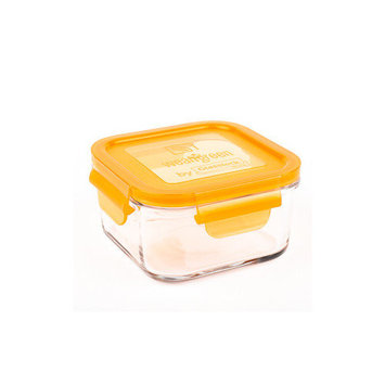 Wean Green Lunch Cubes Glass Food Containers, Single, Raspberry