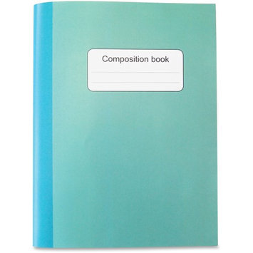 Sparco College-ruled Composition Book - 80 Sheets - College Ruled - 1 Each (spr-36127)