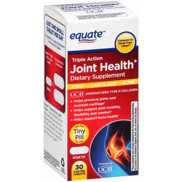 Wal-mart Stores, Inc. Equate Triple Action Joint Health (30 Count)