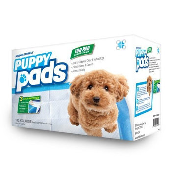 Mednet Direct 6 Layer Dog Training and Puppy Pads Leak Proof Maximum Absorbency for Dogs and Pets