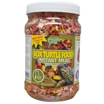 San Francisco Bay Brand Healthy Herp Instant Meal Box Turtle Food Bulk 5.5 Oz