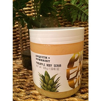 Asquith and Somerset Pineapple Body Scrub 19.4 oz
