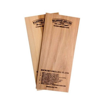 OUTDOOR GOURMET 90274 HICKORY WOOD GRILLING PLANKS, 5 X 11