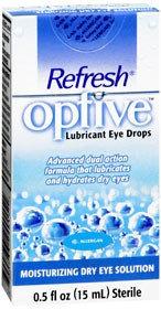 Refresh Optive Lubricant Eye Drops, 15 mL