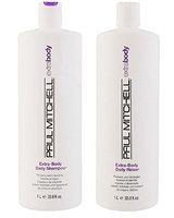 Paul Mitchell Extra Body Daily Rinse 33.8 oz & Shampoo 33.8 oz Duo