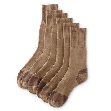 DieHard Men's 6-Pairs Heavyweight Crew Socks