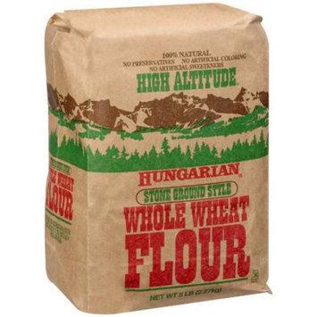 High Altitude: Hungarian Stone Ground Style Whole Wheat Flour, 5 Lb