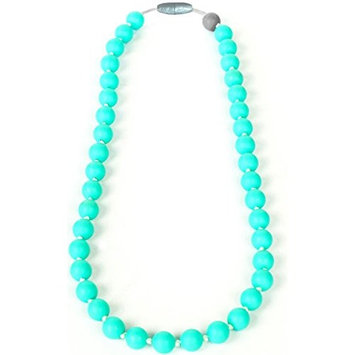 Itzy Ritzy Teething Happens Silicone Jewelry Necklace Bead, Anchors Aweigh [Bead]