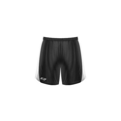 3N2 4005-01-L Womens Practice Shorts, Black - Large