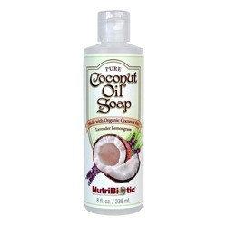 Pure Coconut Soap Lavender Lemongrass Nutribiotic 8 fl oz Liquid