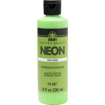 Plaid Enterprises Folkart Neon Green 8 oz