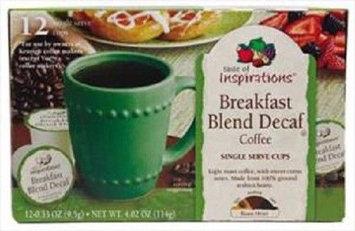 Taste Of Inspirations Breakfast Blend Decaf Single Serve Cup