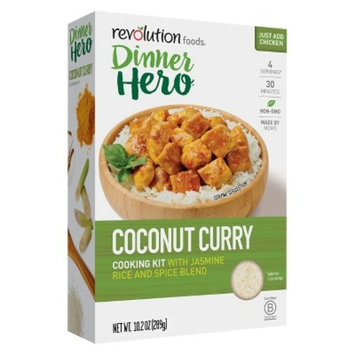 Revolution Foods Dinner Hero Cooking Kit Coconut Curry Chicken - 10.2oz