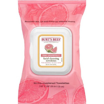 3 Pack Burt's Bees Pink Grapefruit Facial Cleansing Towelettes - 30 count Each