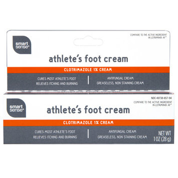 Smart Sense Athlete's Foot Cream, Antifungal, 1 Oz.