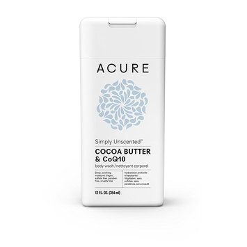 Acure Simply Unscented Body Wash, 12 Fluid Ounces